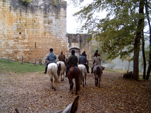 randonnée à cheval France Aquitaine photo 3