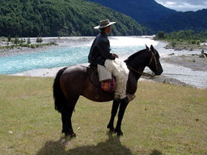 randonnée à cheval Chili Patagonie photo 1