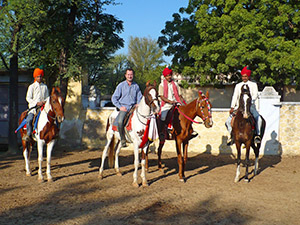 randonnée à cheval Inde Rajasthan photo 1