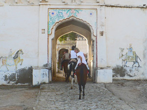 randonnée à cheval Inde Rajasthan photo 8