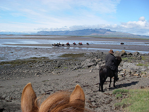 randonnée à cheval Islande Sud photo 1