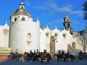 randonnée à cheval Mexique Guanajuato photo 1