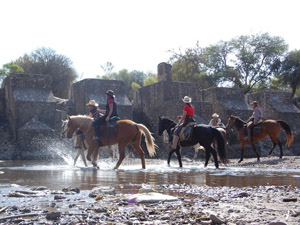 randonnée à cheval Mexique Guanajuato photo 2