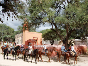 randonnée à cheval Mexique Guanajuato photo 3