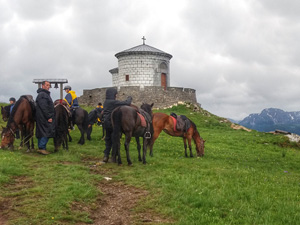 randonnée à cheval Monténégro Kolasin photo 5
