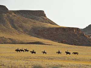 randonnée à cheval Namibie Damaraland photo 2